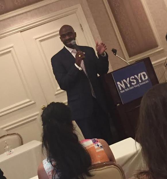 Mike Blake NYS Young Democrats